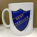 Personalised Best Badge Mug