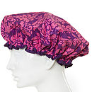 Damask Purple Shower Cap