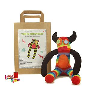 Sock Monster Craft Kit - view all gifts for babies & children