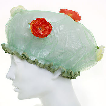 Ranuncula Shower Cap