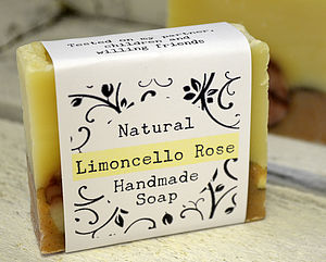 Limoncello Rose All Natural Soap