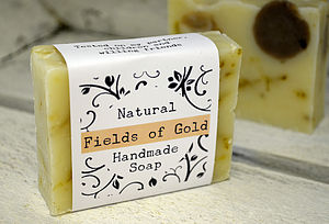 Fields Of Gold Stocking Filler Handmade Soap - bathroom