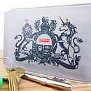 'For Your Royal Journey' Travel Card Holder