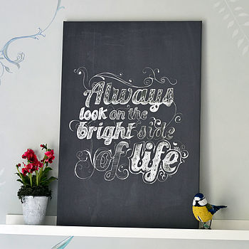 'Always Look On The Bright Side' Print