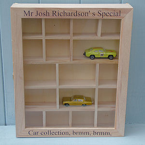 Personalised Little Display Cabinet - storage