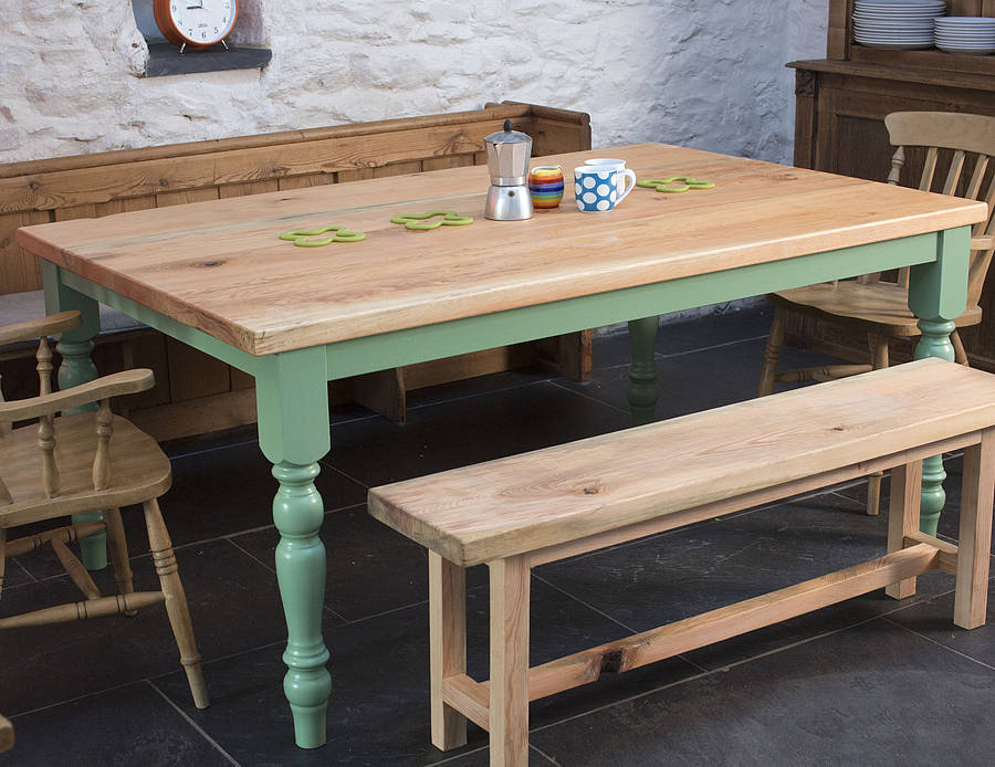traditional farmhouse kitchen tablethe old school carpentry