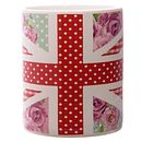 Bone China Shabby Chic Union Jack Mugs