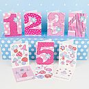 Pack Of Ten Birthday Cards For Younger Girls