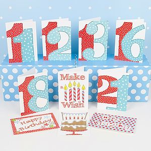 Pack Of 10 'Special Birthday' Cards