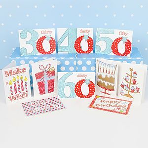 Pack Of 10 'Significant Birthday' Cards