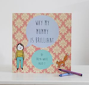 Personalised 'Why My Mummy Is Brilliant' Book - gifts under £25