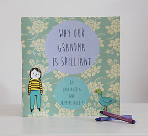 Personalised 'Why Grandma Is Brilliant' Book - best personalised gifts