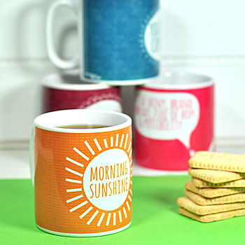 'Morning Sunshine' Mug