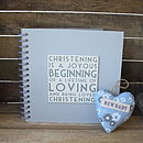 Christening Album/ Memory Book