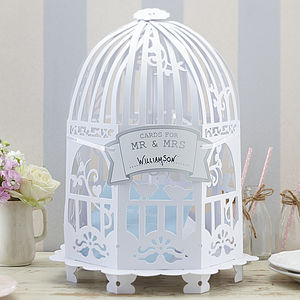 Birdcage Wedding Card Post Box Or Centrepiece - storage & organisers