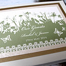 Personalised Butterly Guest Book