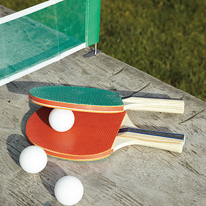 Table Tennis Kit - wimbledon inspiration