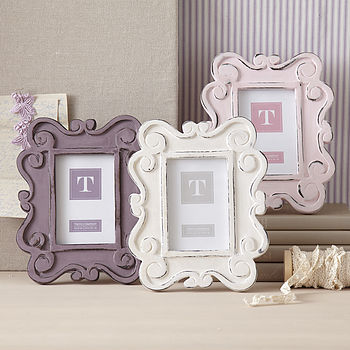 Baroque Wooden Picture Frame