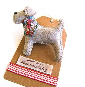 Handmade Doggie Brooch - pins & brooches
