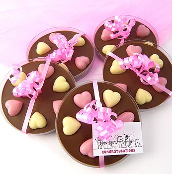 Boxed Chocolate Heart Favours