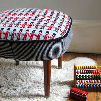 Vintage London Soldier Stool