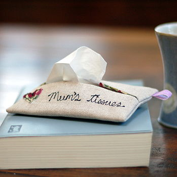 Handmade 'Mum's Tissues' Holder