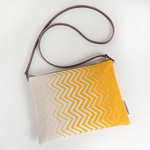 Chevron Cross Body Or Clutch Bag - bags & purses