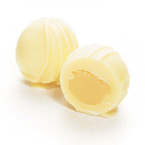 Mozart White Chocolate Vanilla Truffles - cakes & treats