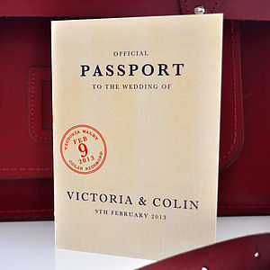 Passport Stationery Collection