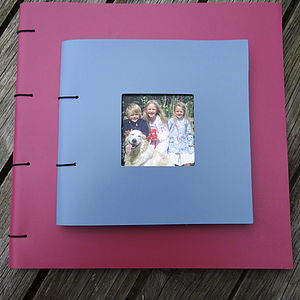 Personalised Leather Photo Album