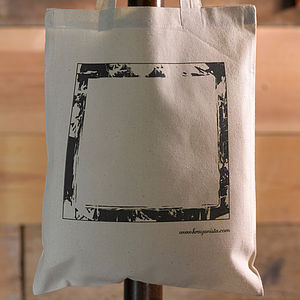 Boy's Picture Frame Colour In Tote Bag