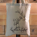 Pixie Fairy Colour In Tote Bag