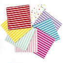 Set Of 20 Paper Napkins