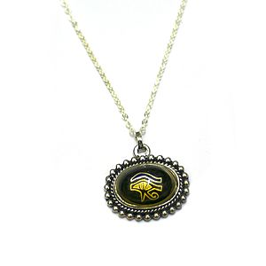 Egyptian Eye Of Horus Mood Necklace - necklaces & pendants