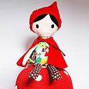Red Riding Hood Handmade Doll