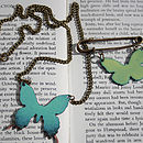 Butterfly Jewellery Set