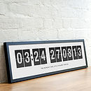 Personalised Special Moment Print