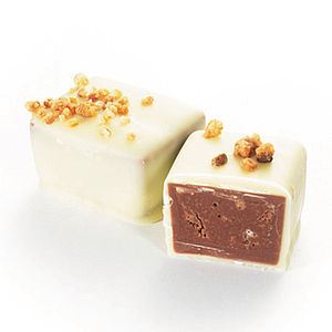 Darcy Praline In White Chocolate