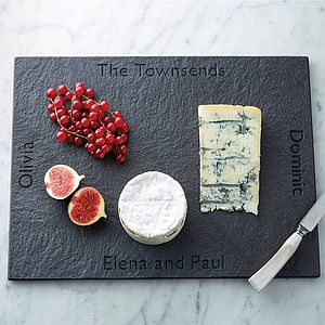 Personalised Slate Rectangle Board - gifts under £100 for her