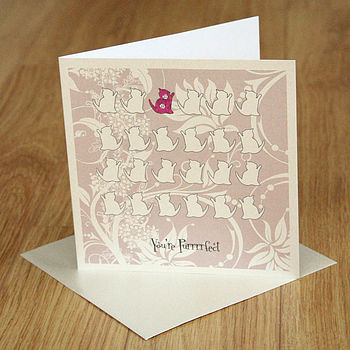 Animal Crackers Greetings Card