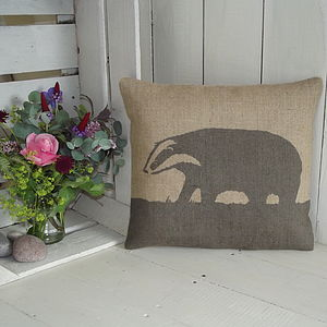 Badger Cushion - cushions