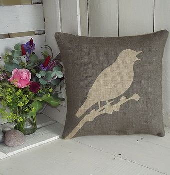 ' Songbird ' Cushion