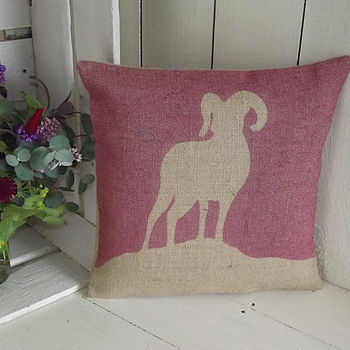 ' Mountain Goat ' Cushion