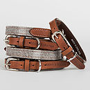 Slate Tweed Collar