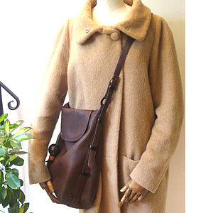 Emmeline: Adjustable Handle Leather Hobo - shoulder bags