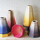 Large Colourful Wooden Pendant Light