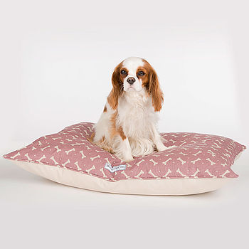M&H Bone Print Pillow Bed