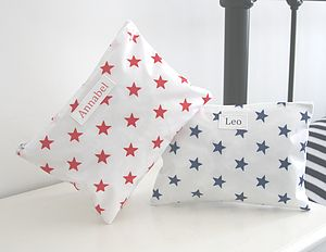 Star Personalised Overnight Washbag - bags, purses & wallets