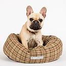 Balmoral Tweed Donut Bed