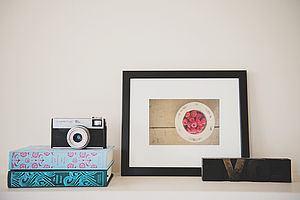 I Believe In Pink Photographic Print - still life